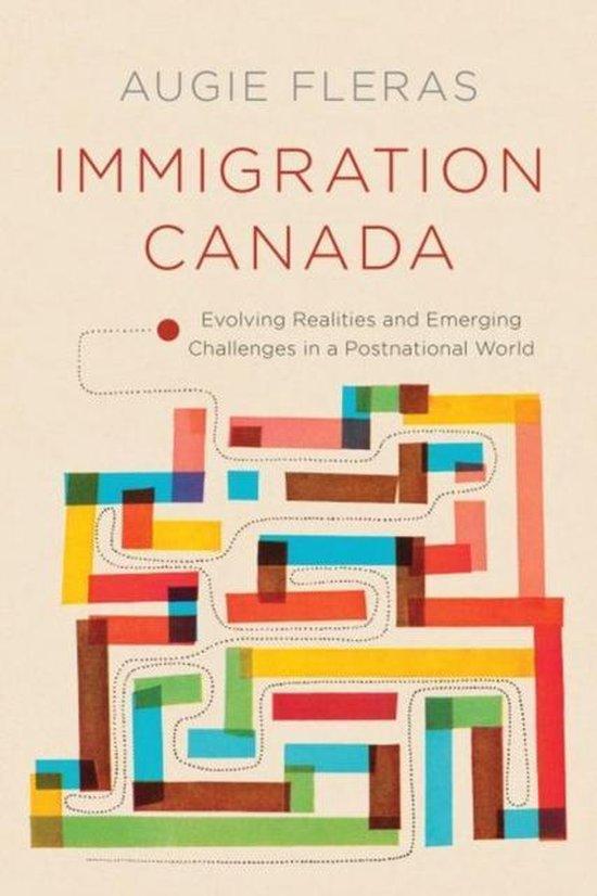 Boek cover Immigration Canada van Augie Fleras