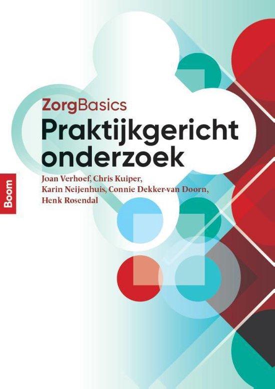 Boek cover ZorgBasics - Zorgbasics praktijkgericht onderzoek van Joan Verhoef (Paperback)