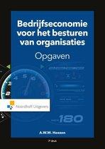 Boek cover Bedrijfseconomie voor het besturen van organisaties-opgaven van A.W.W. Heezen (Paperback)