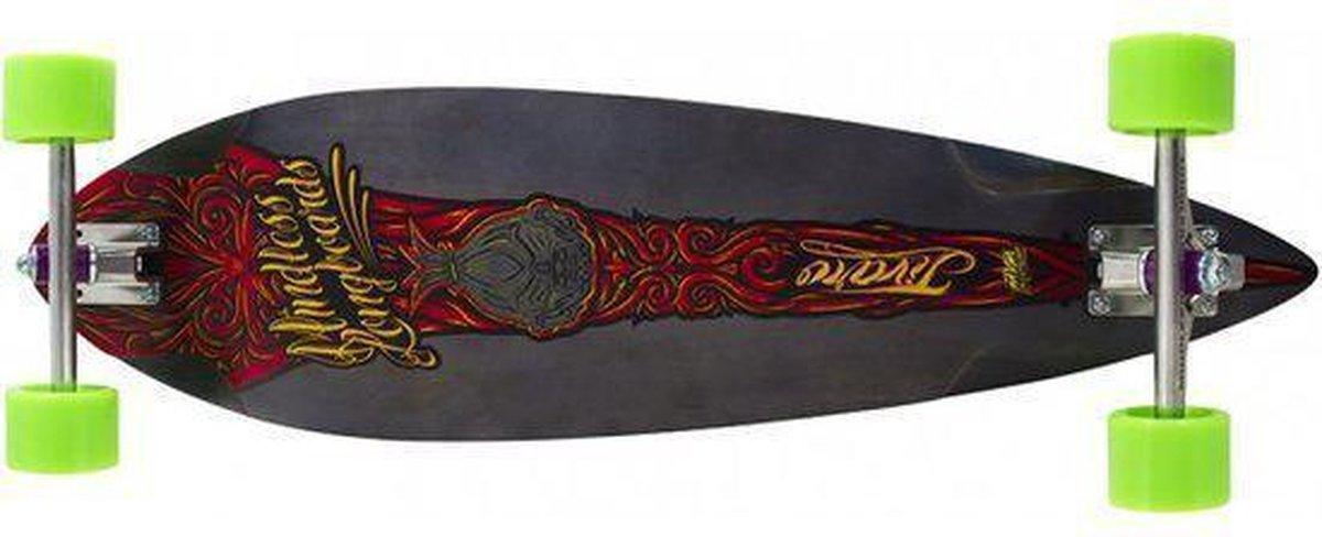 Longboard Mindless Voodoo Jivaro rood