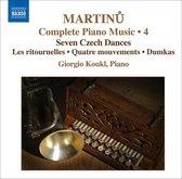 Martinu: Piano Music Vol. 4