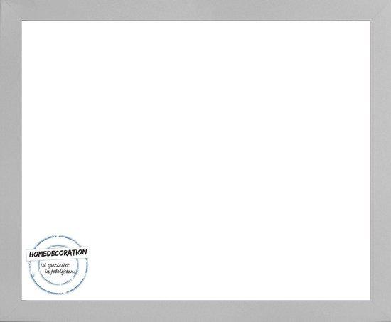 Homedecoration Misano – Fotolijst – Fotomaat – 55 x 89 cm  – Zilver mat