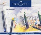 Kleurpotlood Faber-Castell Goldfaber etui � 24 stuks