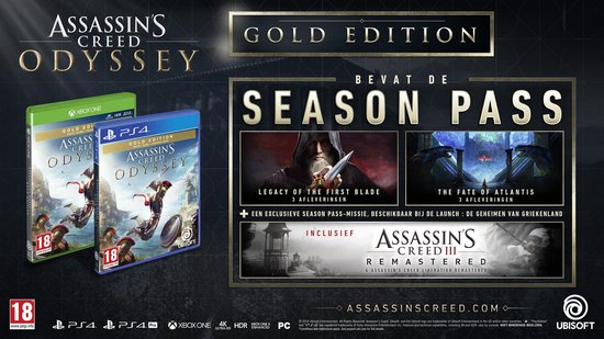 Assassin's Creed: Odyssey – Gold Edition - Xbox One - Ubisoft
