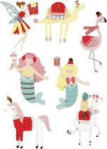 Creativ Company 27695 Papier Assorted colours 7stuk(s) sticker