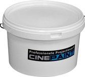Cine Paint Mat Wit - projectieverf - 4 Kg - Gain 1.0
