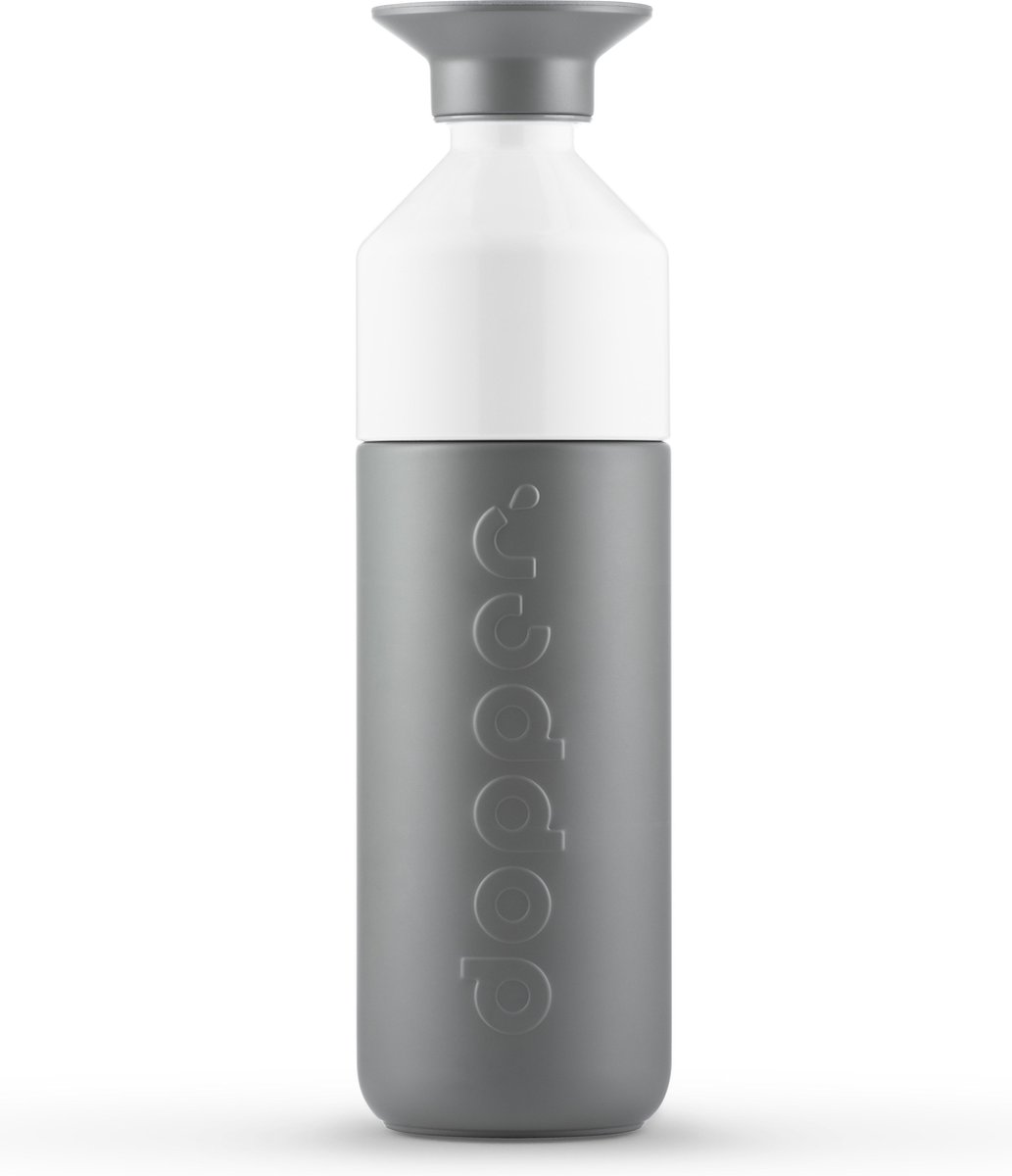 Dopper Insulated Drinkfles - 580 ml  - Glacier Grey