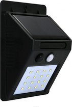 Solar Buitenlamp - LED 6400K 270lm - Polux Buiten Verlichting - Bewegingssensor