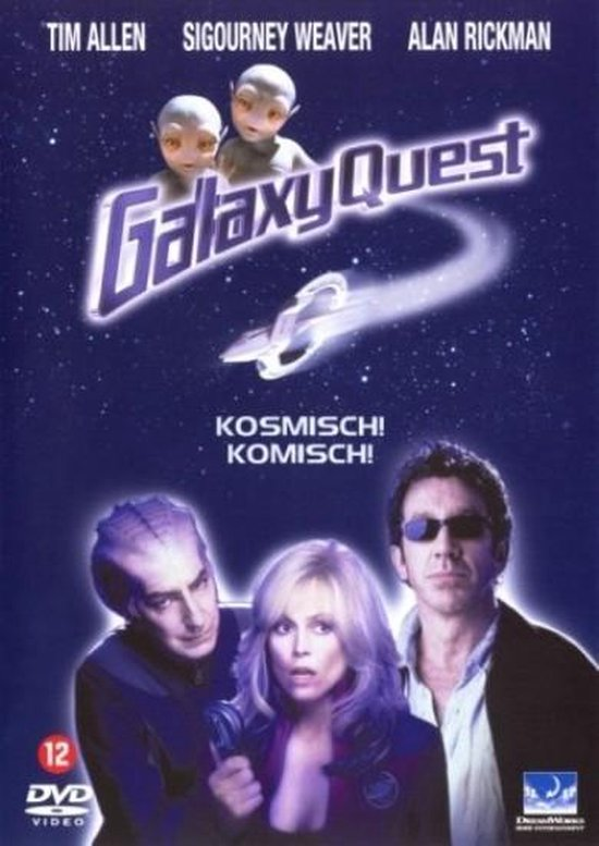 Cover van de film 'Galaxy Quest'