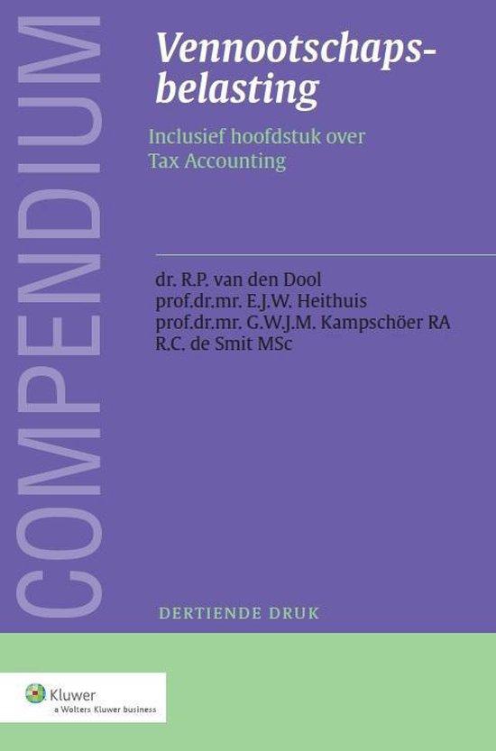 Compendium vennootschapsbelasting - Wolters Kluwer Nederland B.V. |