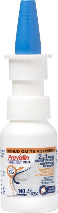 Prevalin Direct Plus Neusspray - Bij hooikoorts - Hooikoorts neusspray - 20ml