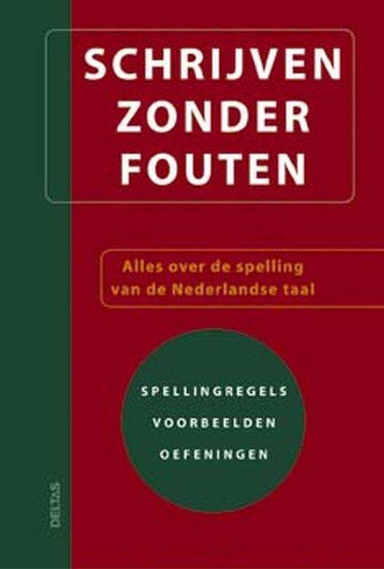 Schrijven zonder fouten - G. van Roosbroeck | Readingchampions.org.uk