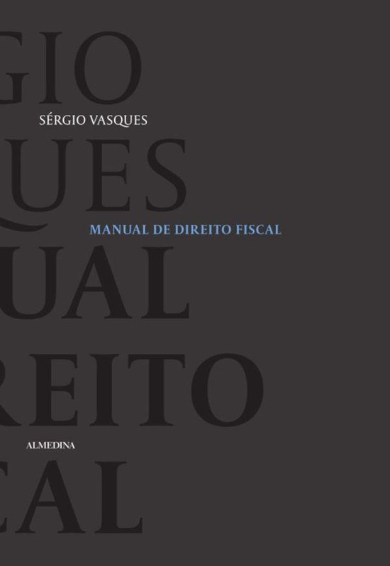 Manual de Direito Fiscal