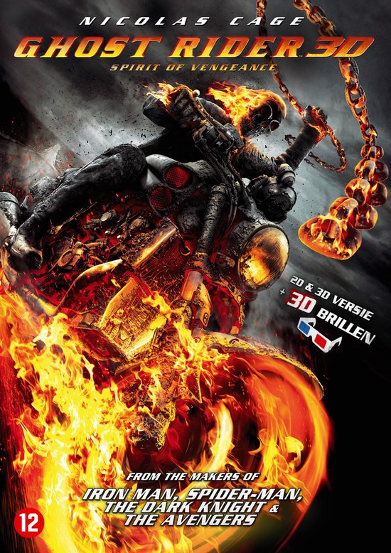 Cover van de film 'Ghost Rider: Spirit Of Vengeance'
