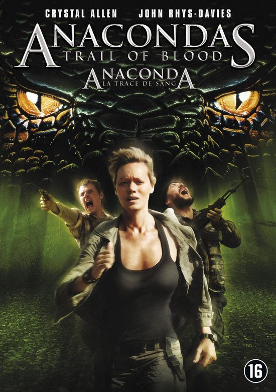 Cover van de film 'Anacondas - Trail Of Blood'