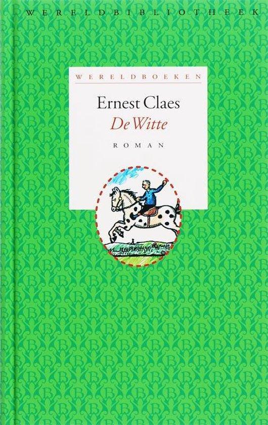 Boek cover Wereldboeken 5 - De witte van Ernest Claes (Hardcover)