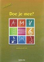 Doe je mee AMV ? vernieuwd 4 - werkschrift a,b inclusief cd
