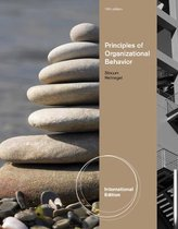 Boek cover Principles of Organizational Behavior, International Edition van Don Hellriegel