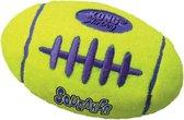 Kong Air Squeaker Football Small - Bal - 97 mm x 86 mm x 40 mm - Geel