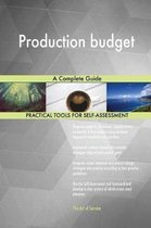 Production Budget a Complete Guide