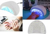 48W Nageldroger UV LED Lamp Nagels - Gellak/Gelnagels/Gel Nagellak Droger - Nagellamp / Nagel Lamp - Zwart