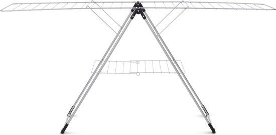 Brabantia Droogrek T model - 20 m - Metallic Grey