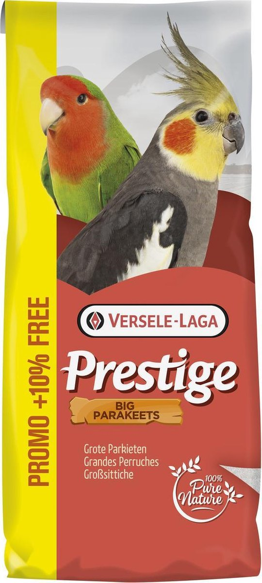 Versele-Laga Prestige Grote Parkieten 20+2 kg Promo - Versele-Laga