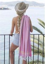 Kikoy strandlaken Bofo Pink 96 x 170 cm