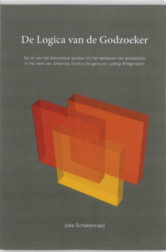 Cover van het boek 'De logica van de godzoeker' van J. Schakenraad