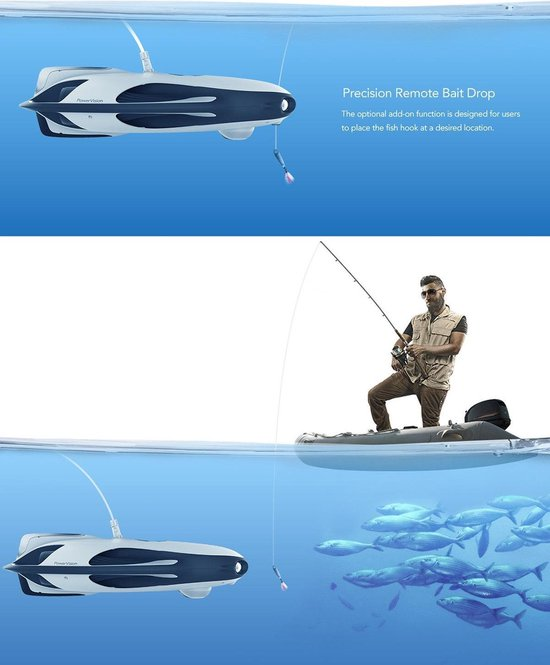 PowerVision PowerRay Wizard - Submarine 4K Drone