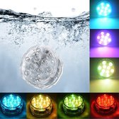 Zwembad verlichting - Led verlichting onderwater - Onderwater verlichting - Zwembad led verlichting - Led verlichting - Decoratie Licht - Licht voor onderwater - Waterlicht -Waterbestendig licht + Afstandsbediening