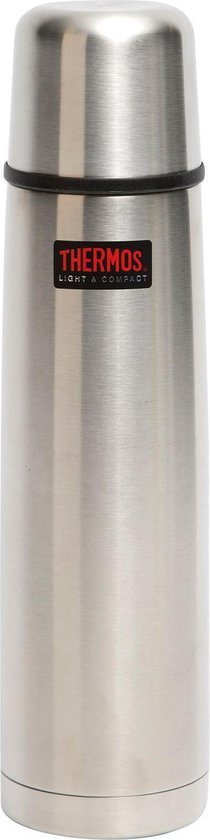 Thermos Isoleerfles - Thermax - 1 Liter - Zilver