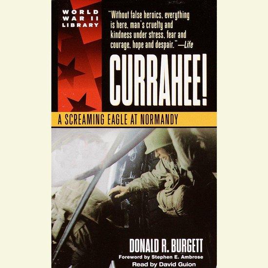 Boek cover Currahee! van Donald R. Burgett (Onbekend)