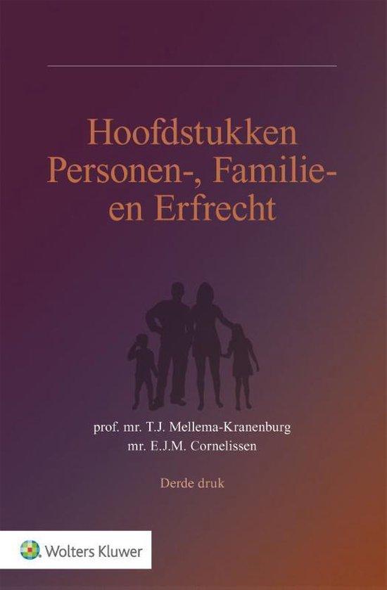 Afbeelding van Hoofdstukken Personen-, Familie- en Erfrecht