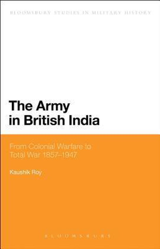 Boek cover The Army in British India van Dr. Kaushik Roy (Paperback)