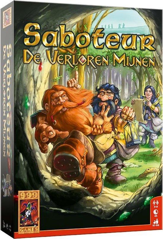 Afbeelding van het spel Saboteur: De Verloren Mijnen Bordspel
