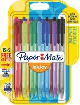 Balpen - Paper Mate Inkjoy 100 RT - blister 15+5