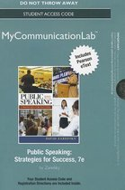 NEW MyLab Communication with Pearson eText --Standalone Access Card-- for Public Speaking