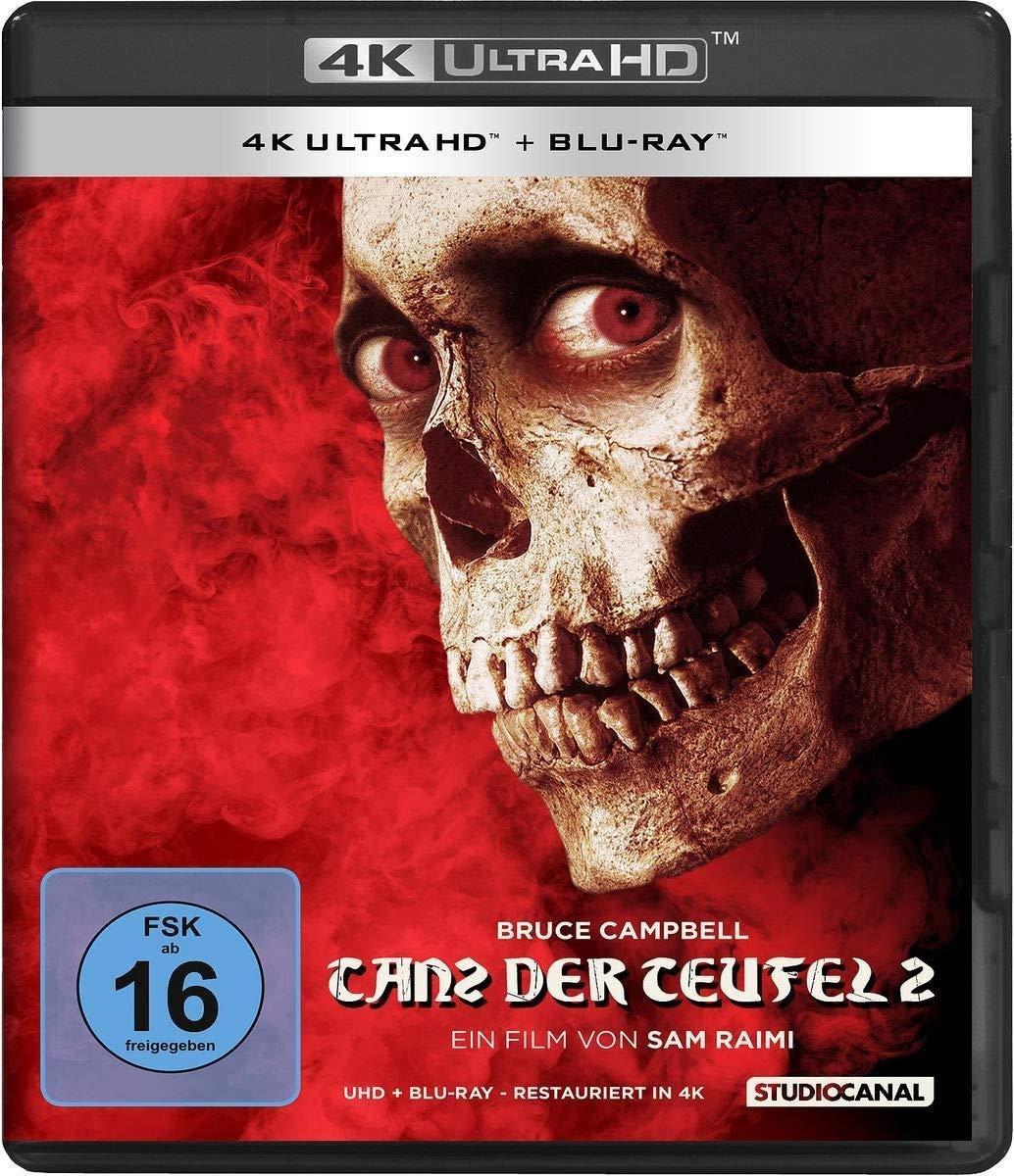 Evil Dead 2 (1987) (Ultra HD Blu-ray & Blu-ray)-
