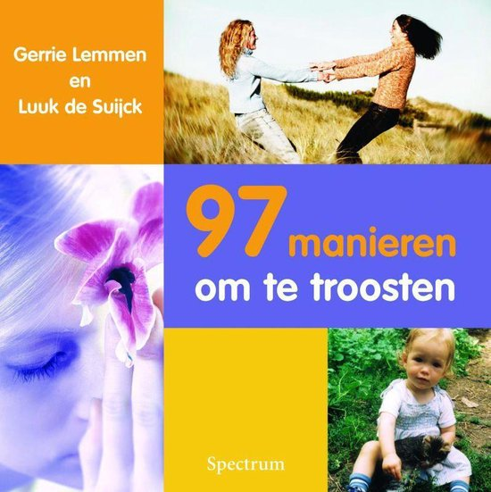 Cover van het boek '97 manieren om te troosten'