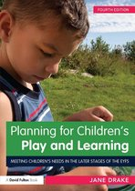 Omslag Planning for Children's Play and Learning