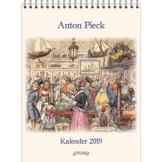 Anton Pieck Kalender Groot 'Stoom- en Luchtvaartmuseum' 2019