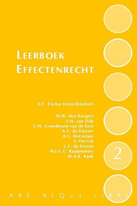 Leerboek Effectenrecht - M.W. den Boogert |