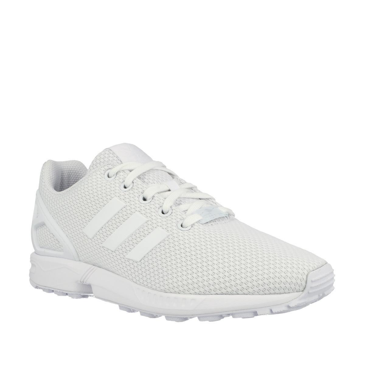 adidas Originals ZX Flux Kids Sneakers Kinderen Maat 39 Wit;Wit