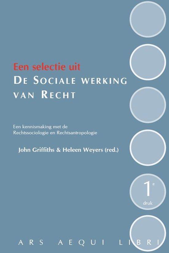 De sociale werking van recht - John Griffiths | Fthsonline.com