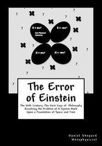 The Error of Einstein