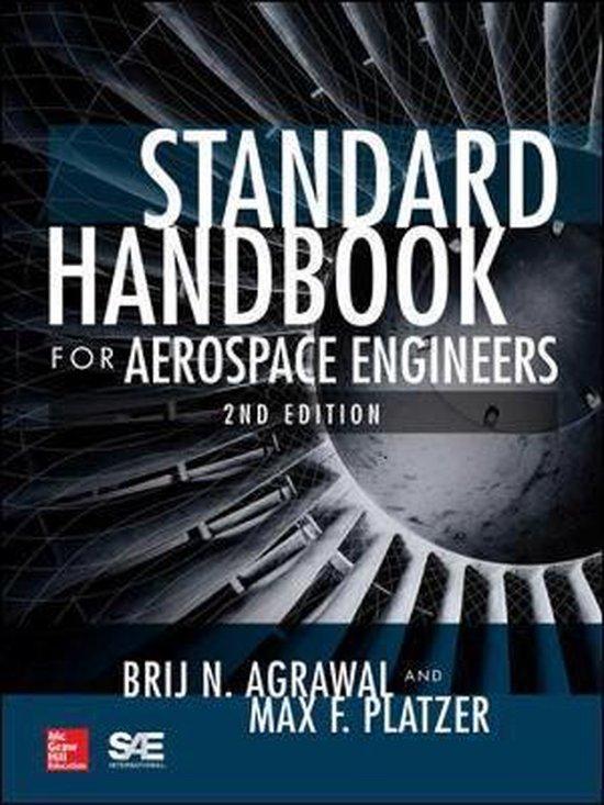 Boek cover Standard Handbook for Aerospace Engineers, Second Edition van Brij N. Agrawal (Hardcover)