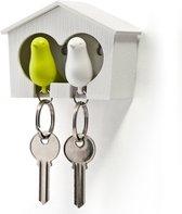 Sparrow Duo Sleutelhanger - Groen