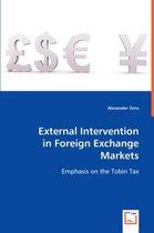 External Intervention in Foreign Exchange Markets