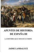 Apuntes de Historia de Espana III